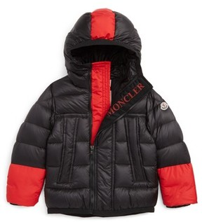 Moncler Boy's Drake Hooded Down Coat