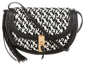 Altuzarra Basketweave Small Ghianda Saddle Bag w/ Tags
