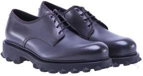 Salvatore Ferragamo Plain-toe Derby Shoes