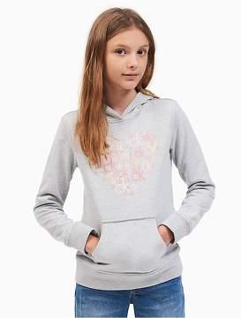 Calvin Klein Jeans Girls Ck Heart Logo Hoodie