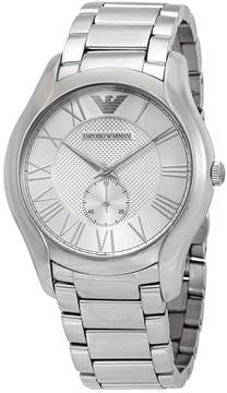 Giorgio Armani Silver Dial Men's Stainless Steel Watch