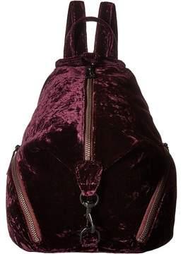 Rebecca Minkoff Medium Julian Backpack Backpack Bags - DARK CHERRY - STYLE