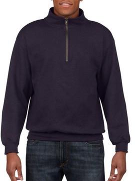 Gildan Men's 1/4 Zip Cadet Collar Sweatshirt