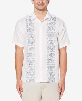 Cubavera Men's Floral-Panel Shirt