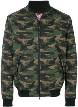 MC2 Saint Barth Traveler camouflage jacket