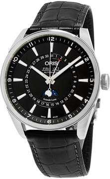 Oris Artix Complication 91576434054LS Stainless Steel & Leather Automatic 42mm Mens Watch