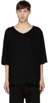 Julius Black V-Neck T-Shirt