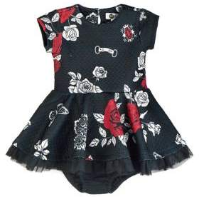 Petit Lem Baby Girl's Bella Dress & Bloomers Set