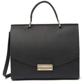 Furla Julia Top Handle Leather Satchel