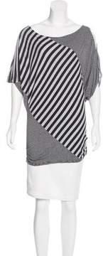 Ella Moss Striped Jersey Top
