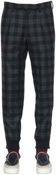 Kolor Plaid Wool Pants