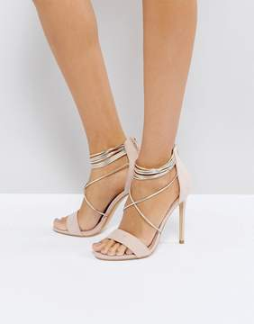 Office Hollywood Blush Heeled Sandals