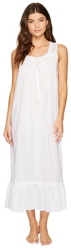 Eileen West Cotton Lawn Printed Ballet Nightgown Women's Pajama