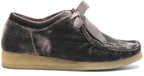Ulla Johnson Velvet Ander Desert Boots in Gray.