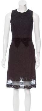 Andrew Gn Lace Midi Dress