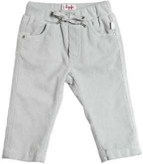 Il Gufo Cotton Corduroy Drawstring Pants