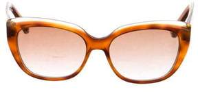 Marc Jacobs Marbled Cat-Eye Sunglasses