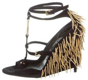 Tom Ford Embellished Ankle-Strap Sandals
