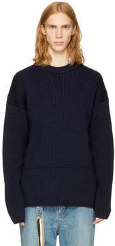 Acne Studios Navy Njal Sweater