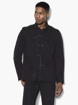 John Varvatos Double Zip Detail Shirt Jacket