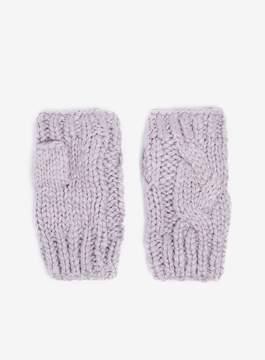 Dorothy Perkins Lilac Fingerless Gloves