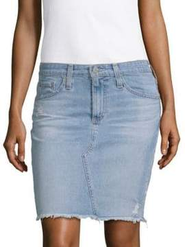 AG Adriano Goldschmied Led Denim Pencil Skirt