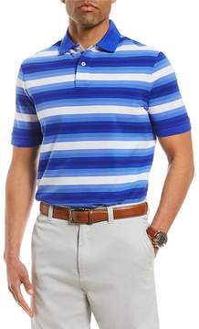 Daniel Cremieux Striped Short-Sleeve Polo Shirt
