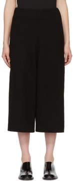 LAUREN MANOOGIAN Black Miter Lounge Pants