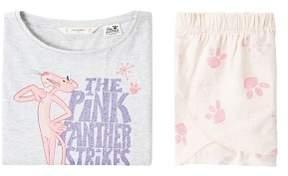 MANGO Pink Panther short pyjama