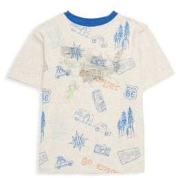 Andy & Evan Boy's Stretch Cotton Roadtrip Tee