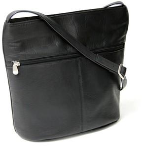 Royce Leather Vaquetta Black Shoulder Bag
