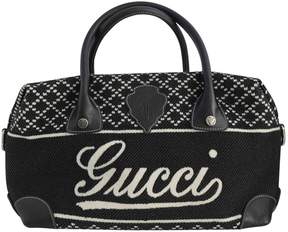 Gucci Boston leather bowling bag - BLACK - STYLE