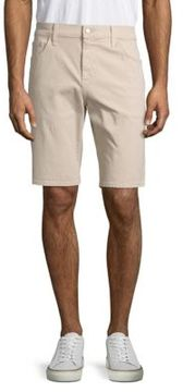 Joe's Jeans Solid Five-Pocket Shorts