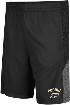 Colosseum Men's Campus Heritage Purdue Boilermakers Friction Shorts