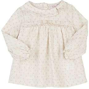 Lili Gaufrette Lali Floral Long-Sleeve Blouse