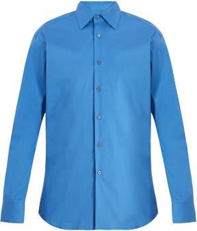 Prada Classic-fit stretch-poplin shirt