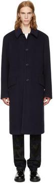 Acne Studios Navy Magma Coat