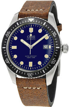 Oris Divers Sixty-Five Automatic Navy Blue Dial Men's Watch