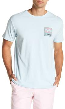 Billabong Short Sleeve Front Graphic Print Tailored Fit Tee