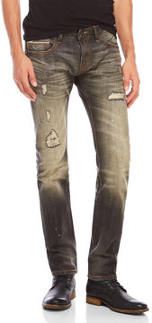 Cult of Individuality Rocker Slim Fit Distressed Jeans