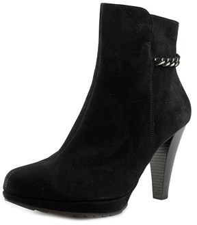 Paul Green Destiny Pointed Toe Suede Bootie.