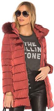 ADD Fur Trim Coat