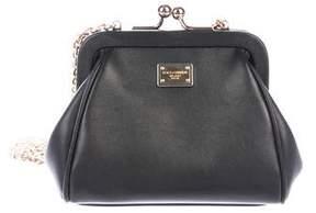 Dolce & Gabbana Mini Kiss-Lock Crossbody Bag