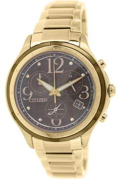 Citizen Women's Eco-Drive FB1372-55W Rose-Gold Stainless-Steel Eco-Drive Watch
