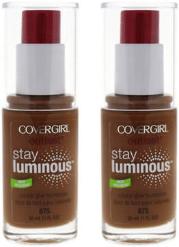 Cover Girl Soft Sable Outlast Stay Luminous Foundation - Set of Two
