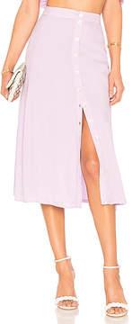 Privacy Please Dizon Midi Skirt