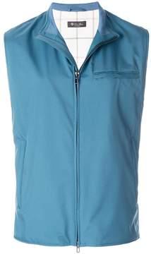 Loro Piana zipped vest