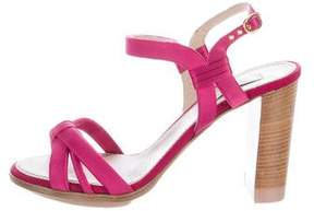 Nina Ricci Canvas Multistrap Sandals