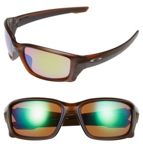 Oakley Women's Straightlink H20 61Mm Polarized Sunglasses - Root Beer/ Prizm H20 P