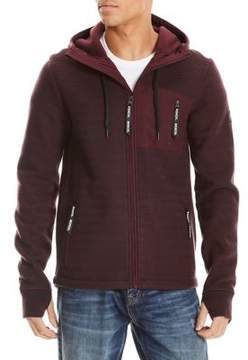 Bench Knitted Drawstring Hoodie